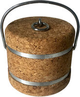 One Kings Lane Vintage Cork Ice Bucket