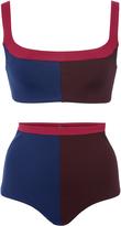 Laura Urbinati Tri Color Bikini Set