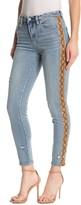Blank NYC Blanknyc Denim The Bond Python Trim Skinny Jeans