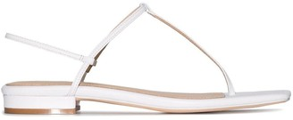 Studio Amelia T-bar thong strap sandals
