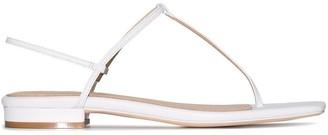Studio Amelia T-bar thong strap sandals