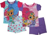 Nickelodeon Shimmer and Shine Girls Cotton Pajamas 4-12