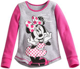 Disney Minnie Mouse Thermal Tee for Girls