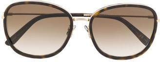 Bottega Veneta Soft Square-Frame Sunglasses