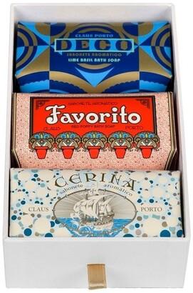Claus Porto Gift Box Deco 3 x