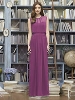 Lela Rose LR222 Dress In Radiant Orchid