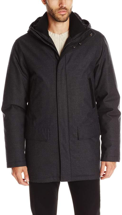 Mackage Men's Octave Wool Flannel Down Jacket