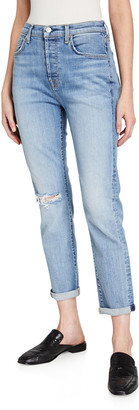7 For All Mankind Josefina High-Rise Distressed Jeans