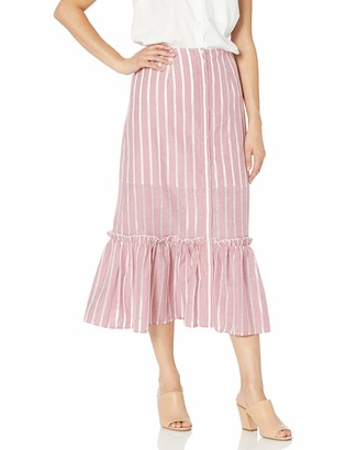 The Fifth Label Women's Kite Striped Midi Skirt