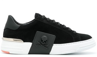 Philipp Plein statement skull low top sneakers