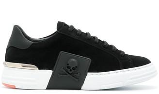 Philipp Plein Statement Skull Low Top Sneakers