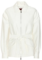 Moncler Gamme Rouge Grand Sandy cotton and silk jacket