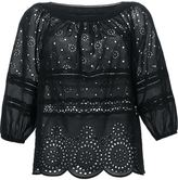 Marc by Marc Jacobs broderie anglaise loose blouse