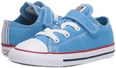Converse Chuck Taylor(r) All Star(r) 1V Twisted (Infant/Toddler) (Coast/Garnet/White) Kid's Shoes