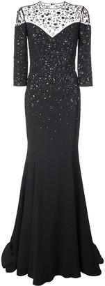 Carolina Herrera R2011E700SFR BLACK MULTI Synthetic->Polyester