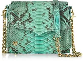 Ghibli Python Leather Small Shoulder Bag