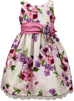 Jayne Copeland Floral-Print Sash Dress, Toddler Girls