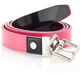 Calvin Klein Bright Patent Reversible Belt