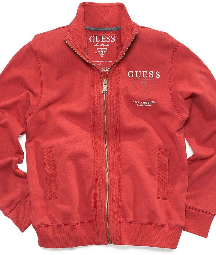 GUESS Kids Jacket, Little Boys Kelton Track Jacket