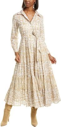 Mes Demoiselles Marathi Midi Dress