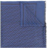 Fendi FF logo scarf - men - Silk/Cotton/Wool - One Size