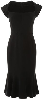 Dolce & Gabbana Square-Neck Midi Dress