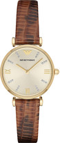 Emporio Armani ar1883 leather watch