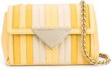 Sara Battaglia small Elizabeth shoulder bag - women - Calf Leather/Polyester - One Size
