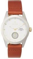 Triwa 'Aska' Leather Strap Watch, 32mm