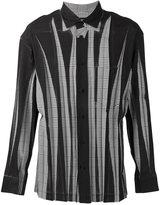 Issey Miyake wrinkled effect shirt - men - Polyester - 3
