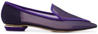Nicholas Kirkwood Beya 18mm mesh loafers