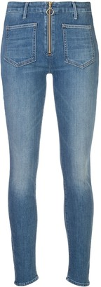 Mother Patch XYZ Looker jeans