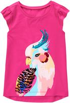 Gymboree Bright Flamingo Cockatiel Graphic Tee - Girls