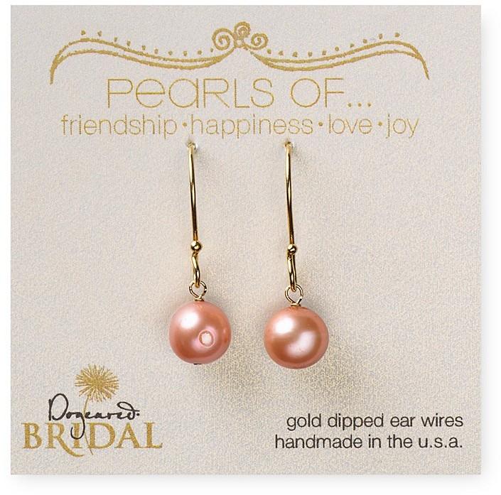 Dogeared Bridal Pearl Earrings
