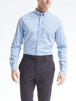 Banana Republic Grant-Fit Custom-Wash Stripe Shirt