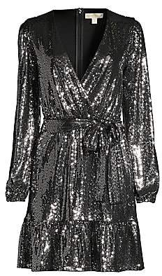 MICHAEL Michael Kors Women's Mirror Wrap Dress