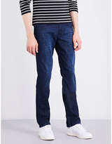 7 For All Mankind Slimmy Weightless Slim-fit Tapered Stretch-denim Jeans