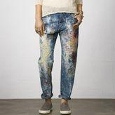 Denim & Supply Ralph Lauren Paint Splatter Boyfriend Jean