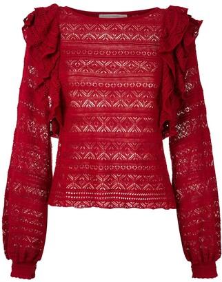 Cecilia Prado knitted Melissa blouse
