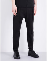 Damir Doma Raw-waistband Cotton-jersey Trousers