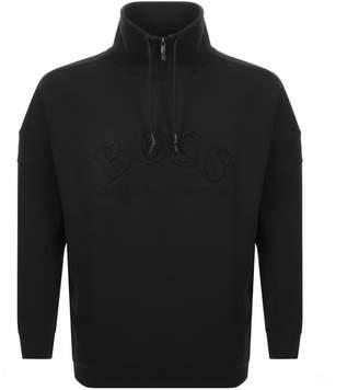 Boss Athleisure BOSS Athleisure Salboa Half Zip Sweatshirt Black