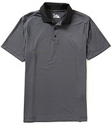 Under Armour Golf Striped Short-Sleeve Release Polo Shirt