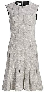 Akris Punto Women's Twill Flounce Sheath Dress