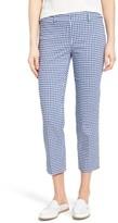 Petite Women's Halogen Crop Stretch Cotton Pants