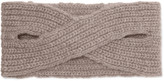 Madeleine Thompson Victoria ribbed cashmere headband