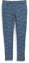 Stella McCartney Girl's Horse Print Skinny Jeans