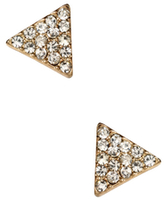 Amrita Singh Triangle Stud Earrings