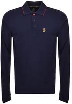 Luke 1977 Longmead Polo T Shirt Navy
