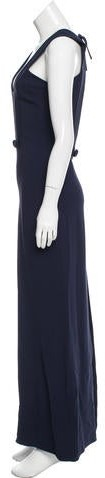 Thumbnail for your product : Osman Rhea Sleeveless Dress Navy