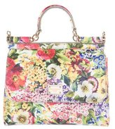 Dolce & Gabbana Medium Floral Miss Sicily w/ Tags